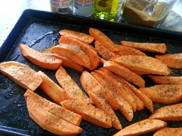 How to condiment the Sweet Potato Fries