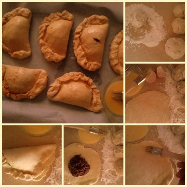 Process to make mole empanadas #ABRecipes