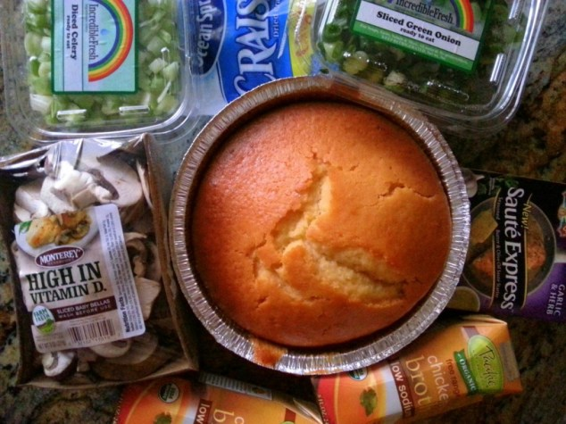 Ingredients for Homemade Cornbread Stuffing #ABRecipes