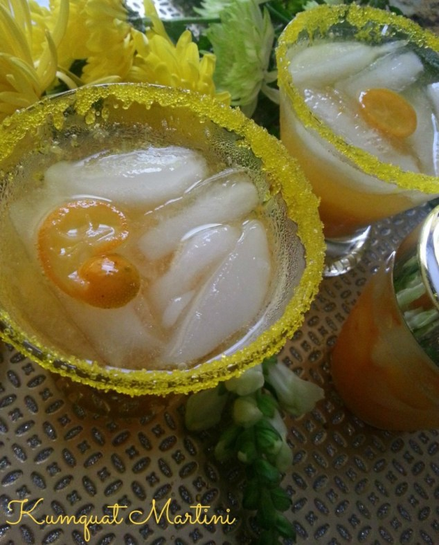 Kumquat Martini #ABRecipes