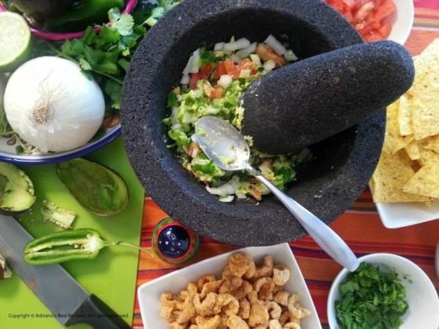 How to prepare fresh guacamole #ABRecipes