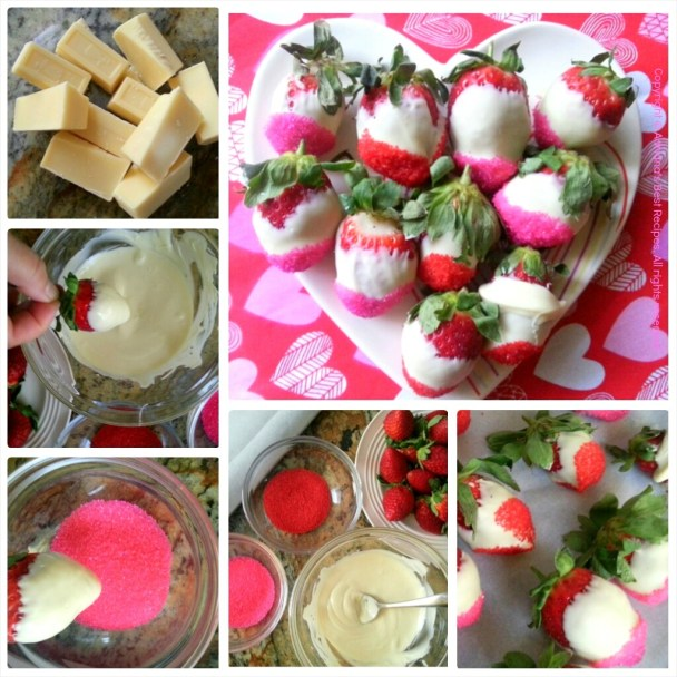 How to prepare white chocolate strawberries #ABRecipes