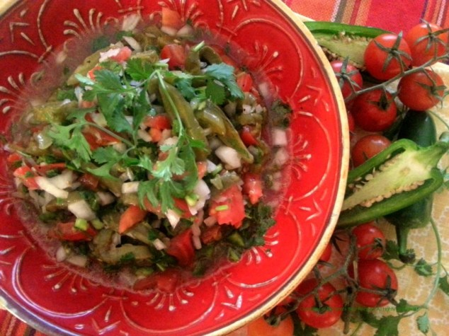 Cactus Nopalitos Salad for Lent #ABRecipes