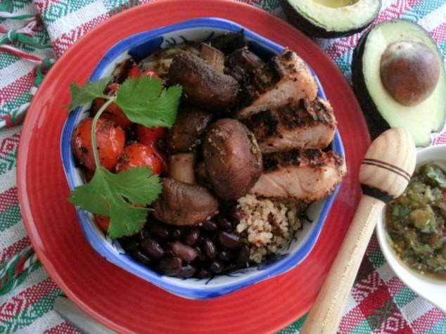 Mexican Bowl #MushroomMakeover #ad