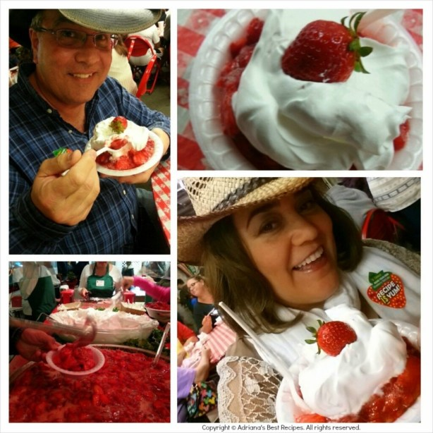 Strawberry Shortcake at the Strawberry Festival #ABRecipes