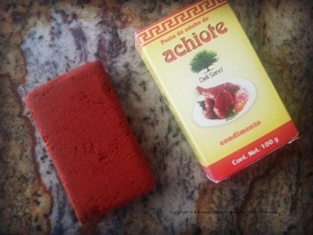 Achiote Condiment for Chicken Pibil #ABRecipes