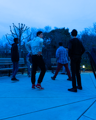 Blue Hour Hacky Sack