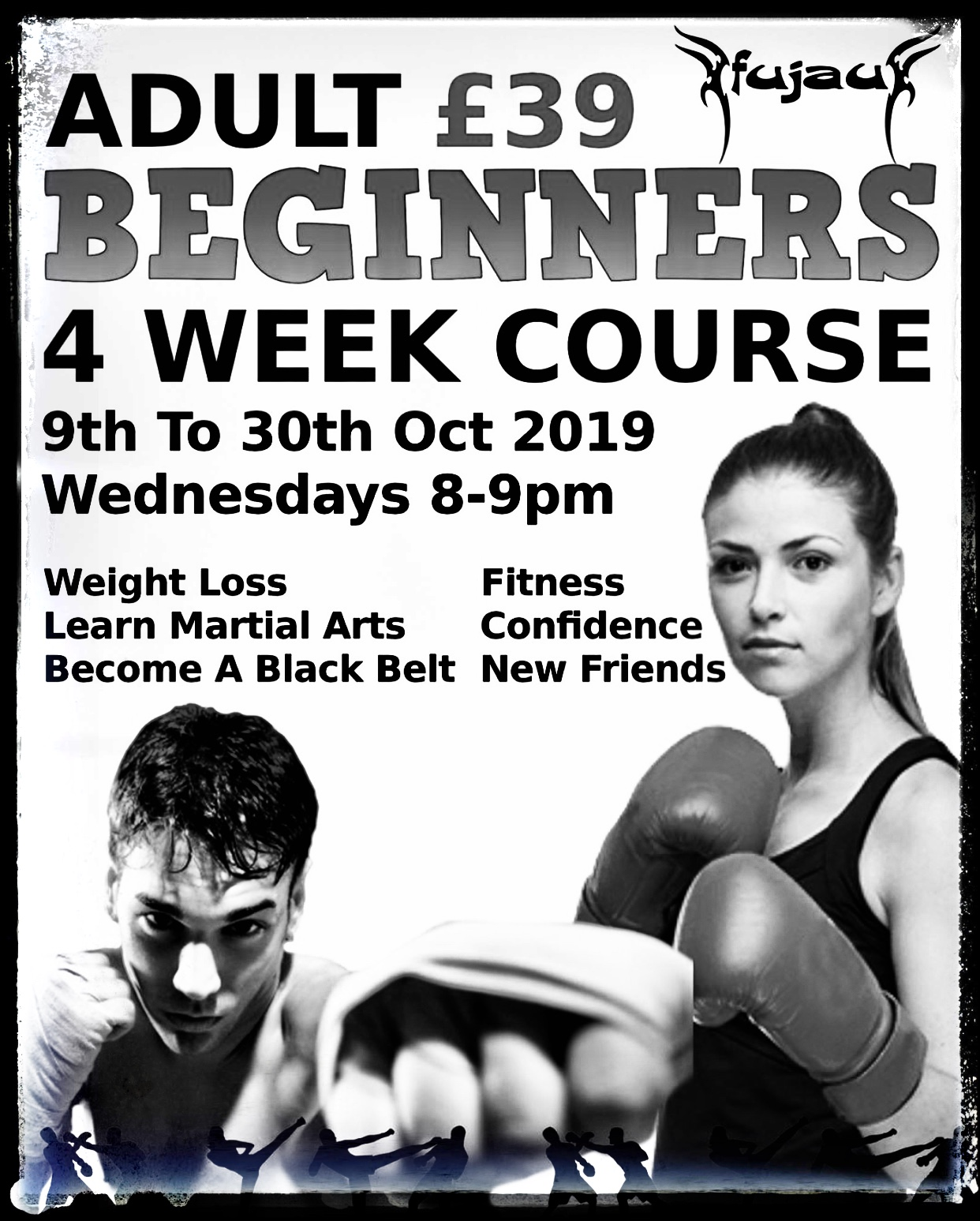 Beginner Kickboxing / Muay Thai / Beginner Martial Arts Course in Slough Starting 9th Oct 2019
