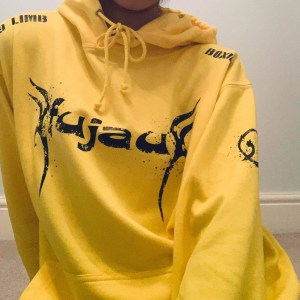 Yellow Fujau 9 Limb Boxing Hoody (Unisex)