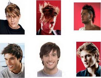 estilo cabelo - homem
