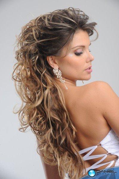 penteados para formatura cabelos longos e lisos