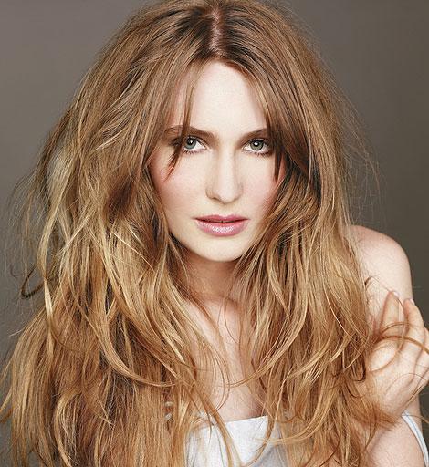 cabelos loiros medios