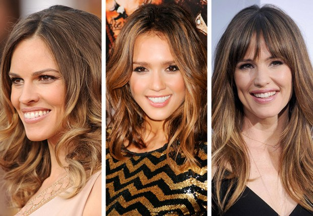 MECHAS-bronde hair