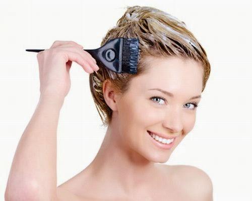 matizando o cabelo