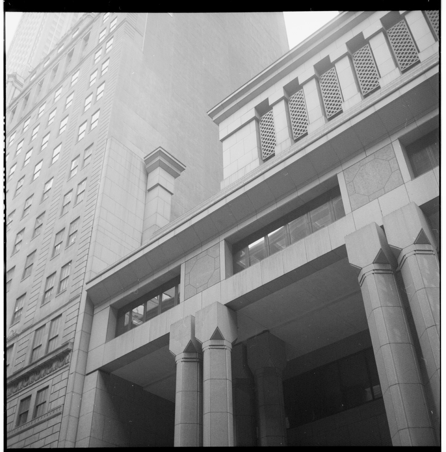 Building detail, Bank of New York