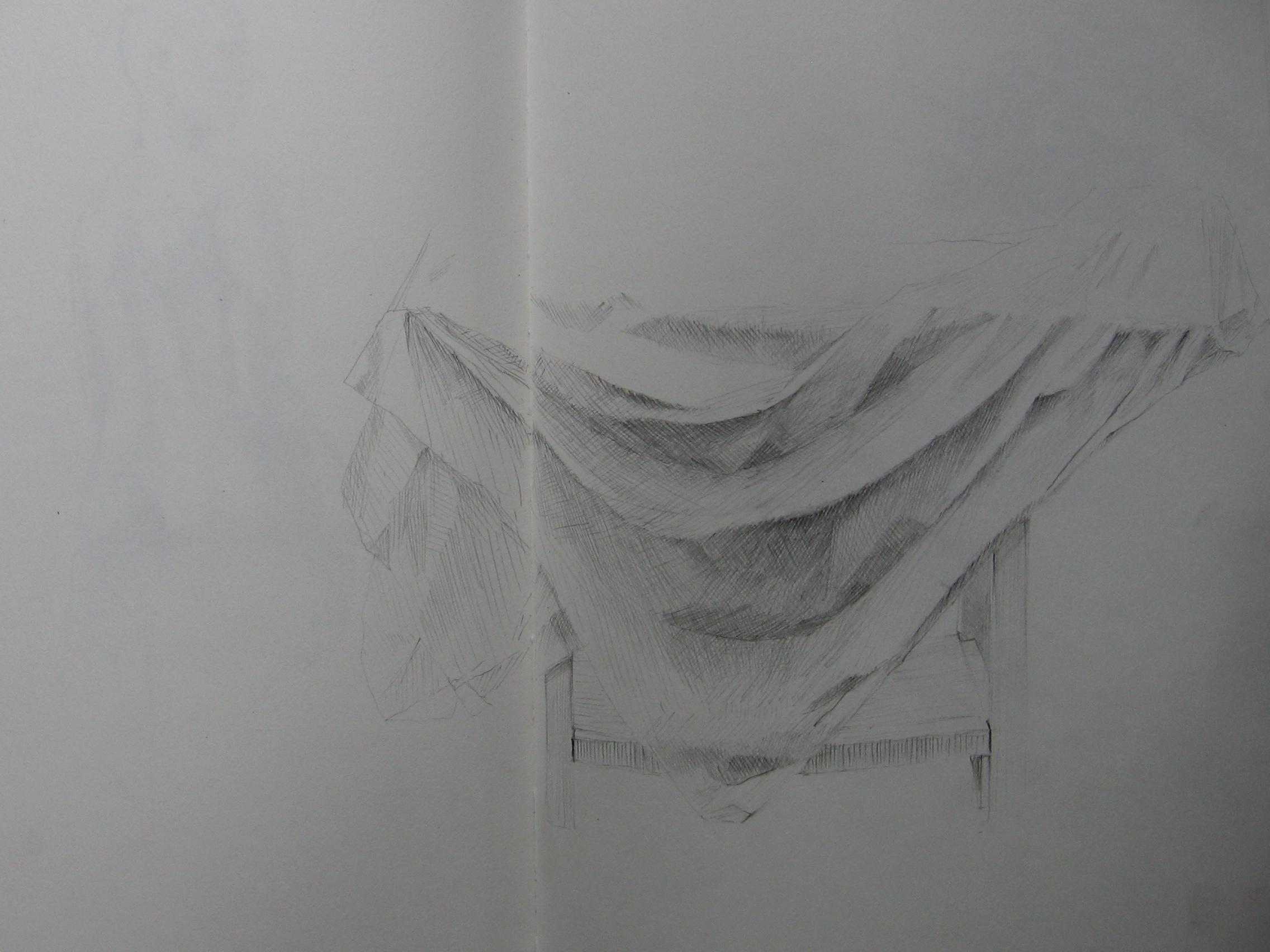 Drapery Study