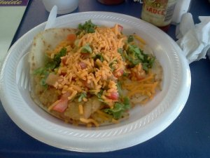 Fish taco Bayseas