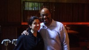 Me and Chef Alex Guarnaschelli