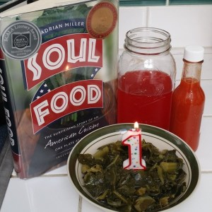 Soul food 1 year birthday pic