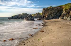 seascape llyn peninsula north Wales UK