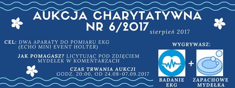 Aukcja charytatywna nr 6 2017 fundacja e-medycyna