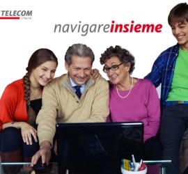 navigare insieme telecom italia