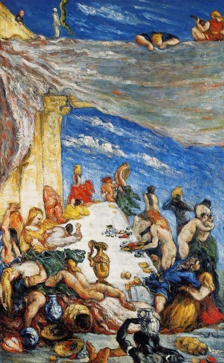 Cezanne, Il banchetto di Nabucodonosor