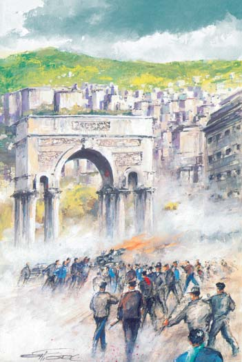 Genova: 12.000 tedeschi si arrendono