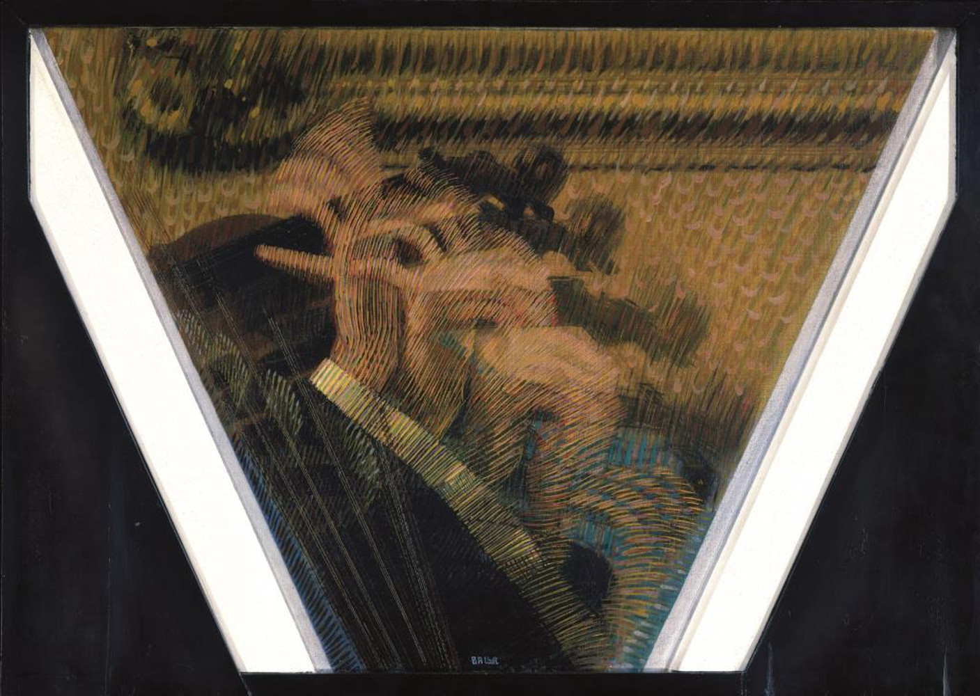 Nella casa del pittore Giacomo Balla arrivavano, intorno al 1905, artisti di ogni paese