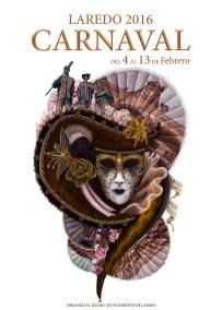 Diseño Ilustración Cartel Carnaval Laredo