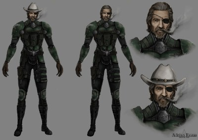 Concept Art Coronel Jet Assault