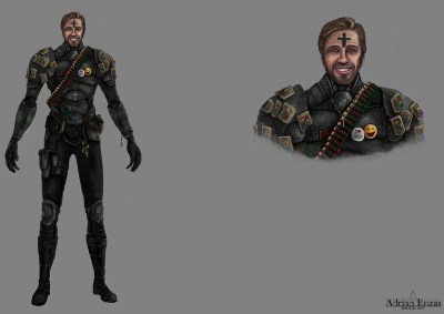 Concept Art Padre Patric Jet Assault