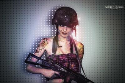Fotografía Mujer Militar