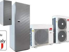 Pompa de caldura MAXA tip split 14T kW trifazata i-SHWAK/WP/V4+MP3 14T