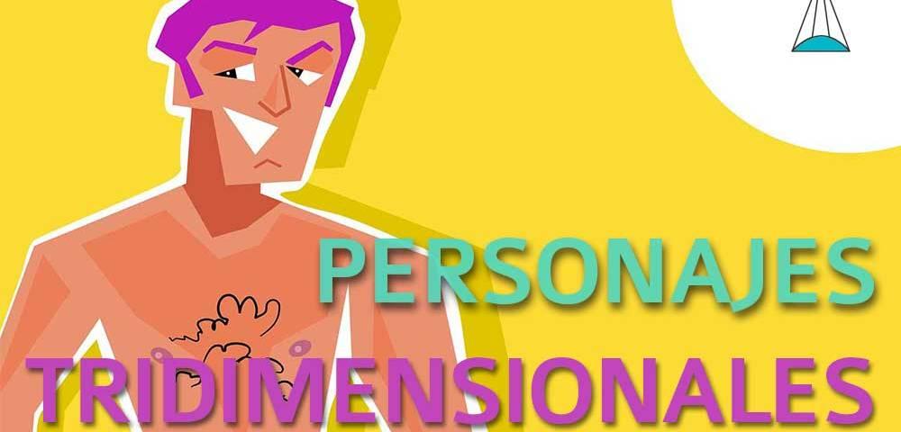 Personajes tridimensionales