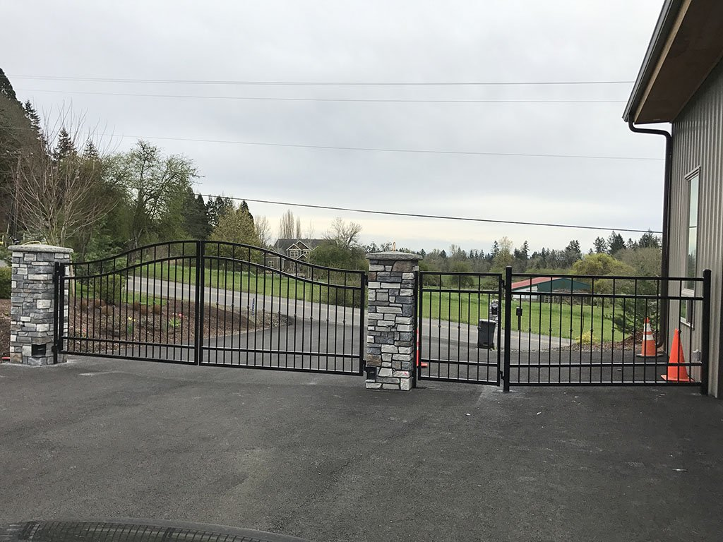 Portland Driveway Oregon Gates