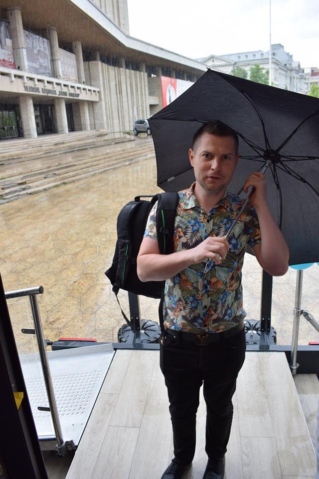 Soare și ploaie ieri la Craiova.
