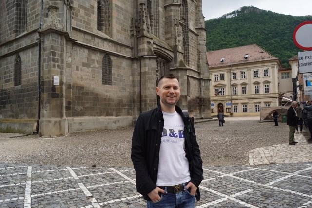La pas prin Brașov