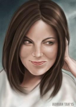 portrait michelle