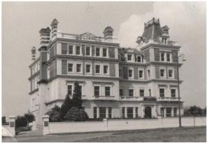 Original photograph of Molyneux Place circa 1960.