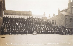Postcard of the Royal Tunbridge Wells Veterans Association, 24th March 1912.