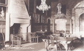 Postcard of the Ball Room, Penshurst Place.