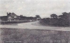 Postcard of Hildenborough, Stocks Green, July 1914.