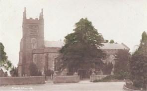 Postcard of Frant Church.