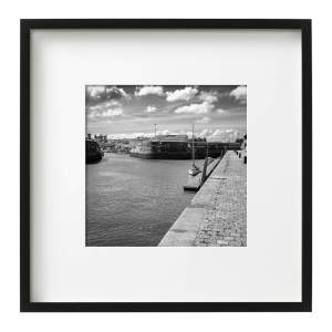 Harbour Approach, Framed Monochrome Prints