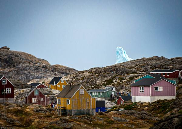 East Greenland Iceberg Kulusuk