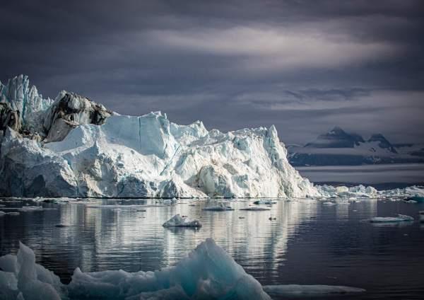 East Greenland Sermilik Iceberg Sunshine