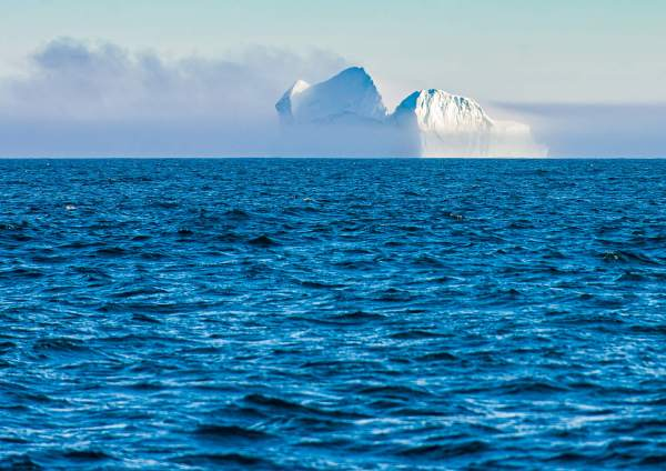 East Greenland Iceberg Denmark Strait