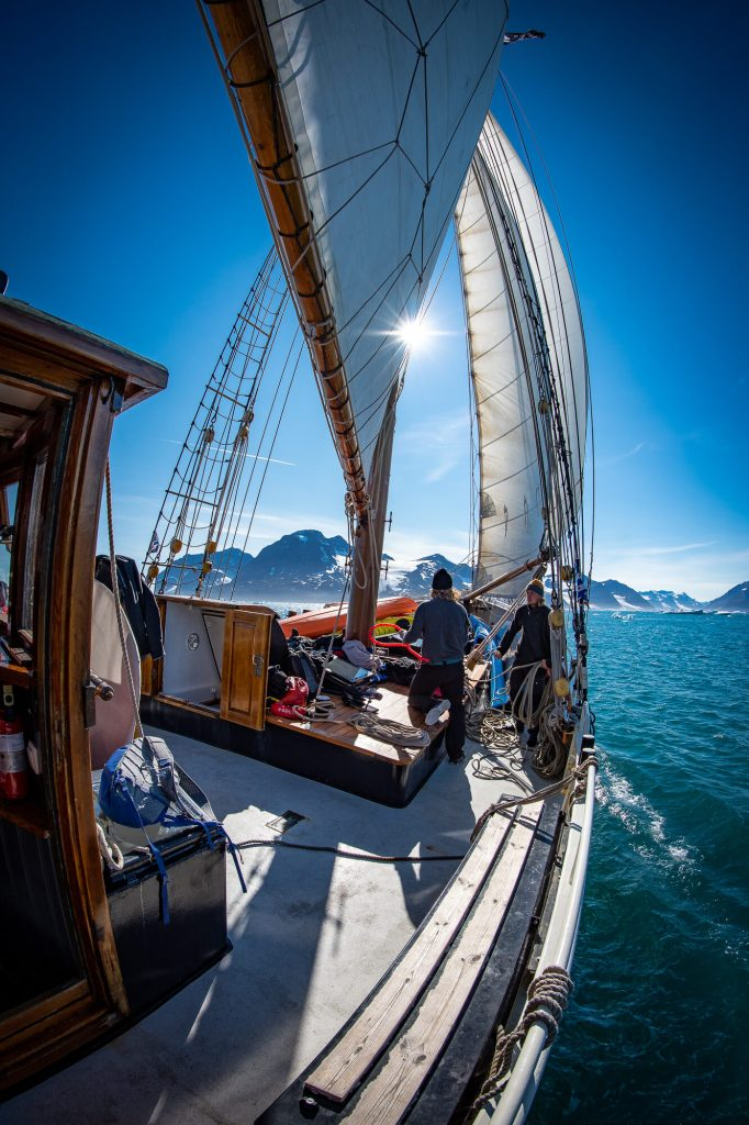 East Greenland Arktika Sailing Nansen Fjord