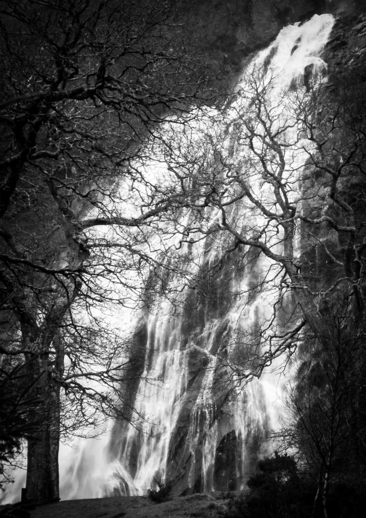 Winter waterfall - Powerscourt Wicklow